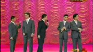 十一、群口相声《五官新说》表演:刘伟、郑健、马东、大山、周炜 A