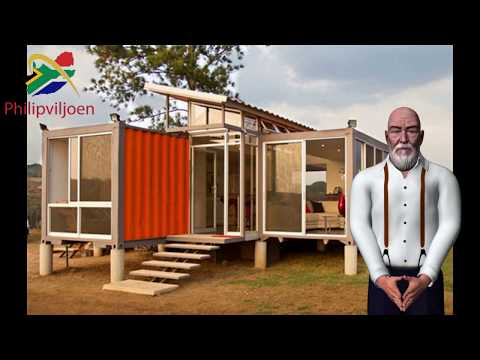Build you own shipping container home in 2020 by Philip Viljoen