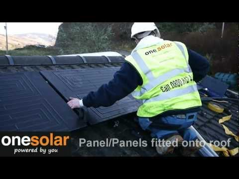 Thermodynamic Panel Installation from One Solar PV Ltd