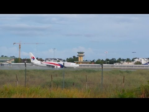 Spotting: Malaysia Airlines B737-800 Landing at Miri Airport MYY (04/09/2016)