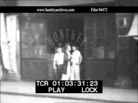 Shanghai Shops in 1937.  Archive film 94473