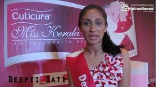 Deepti Sati - Miss Kerala 2012 - Contestant No: 19