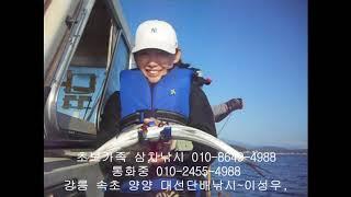 고성 속초 바다낚시 가족 여행코스 양양 낙산항 삼치낚시…