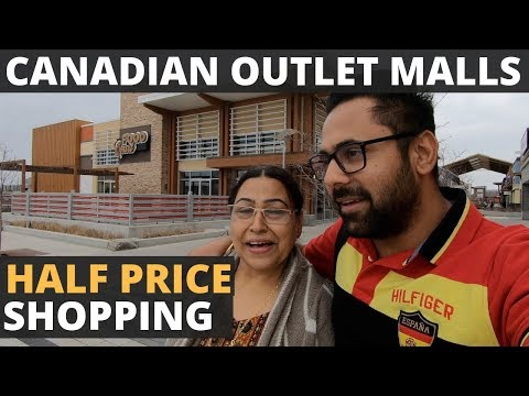 TD Vlog 4 - Factory Outlet Malls In Canada, Discounted Price Shopping And Buying Mom Her Shoes.