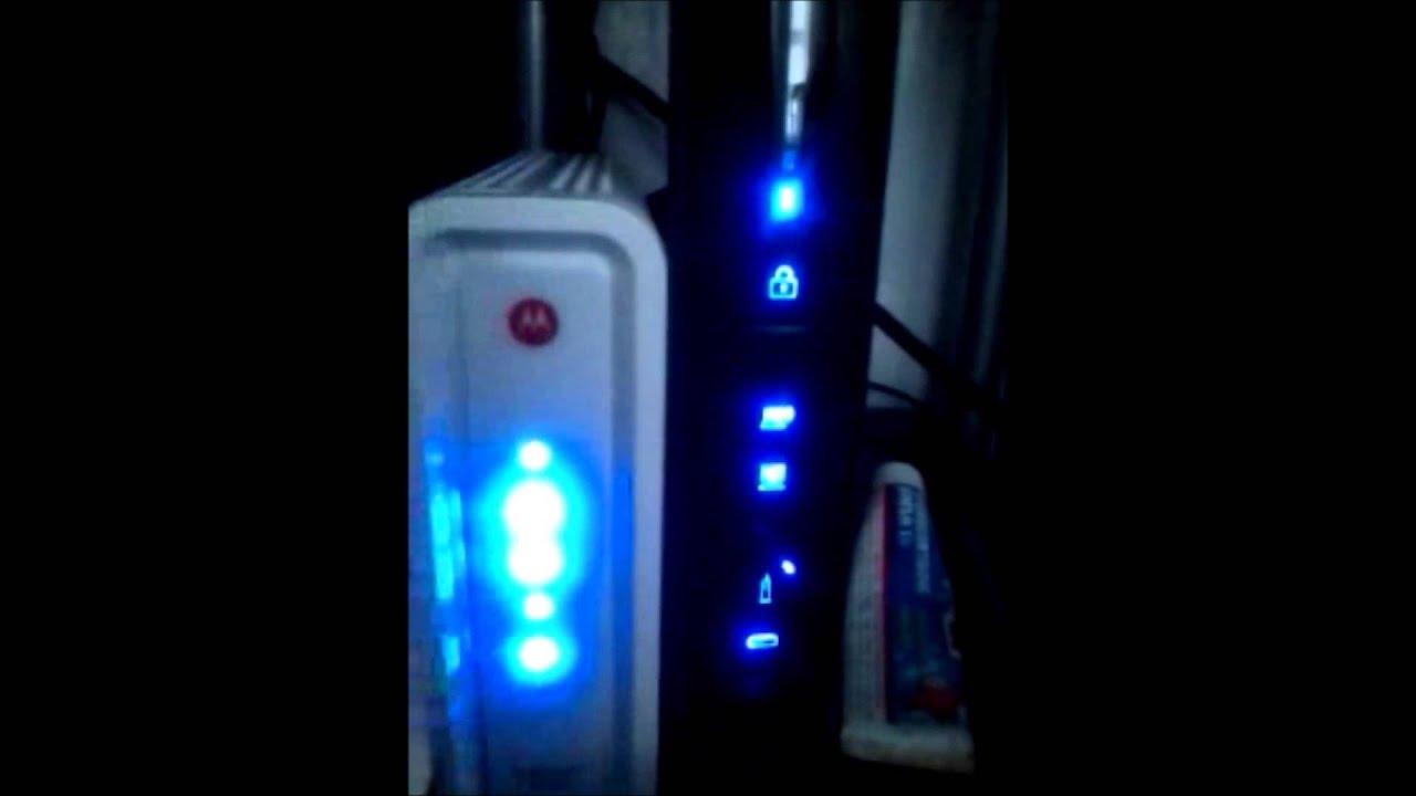 Motorola Sb6141 Cablemodem Review Youtube