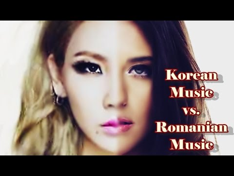 KPOP vs. ROMANIAN POP || aka. 7 similar videos/themes