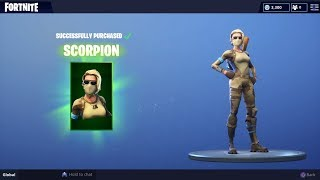Fortnite new skins. Armadillo - scorpion
