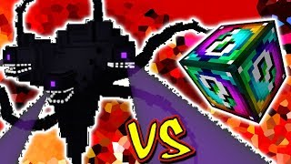EXTREME WITHER VS. LUCKY BLOCK SPIRAL (MINECRAFT LUCKY BLOCK CHALLENGE)