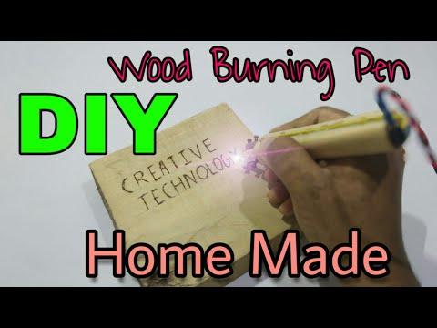 """Wood Burning Pen"" DIY model making full tutorial homemade    CREATIVE TECHNOLOGY"