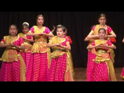 performance by students of Shruti Sinha Performing Arts