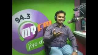 Jatin Sadhu-Worldcup Song 4 Team India. Interview on My F.M. Mo-09429031171