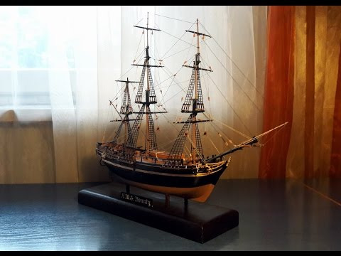 H.M.S. Bounty Ship Model By Revell (A Brief History Of A Legend)