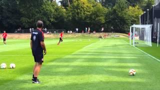 Torwarttraining Eintracht Frankfurt | Saison 15/16