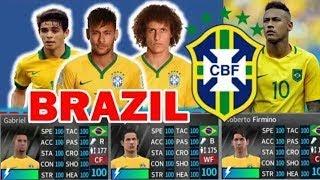 Brazil legends all players 100 dream league soccer 2018