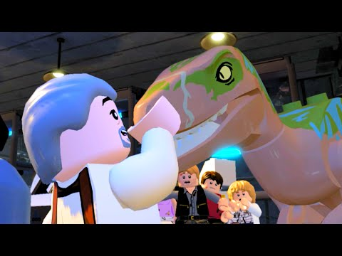 LEGO Jurassic World Stealth By The Raptors & Escape The Innovation Center