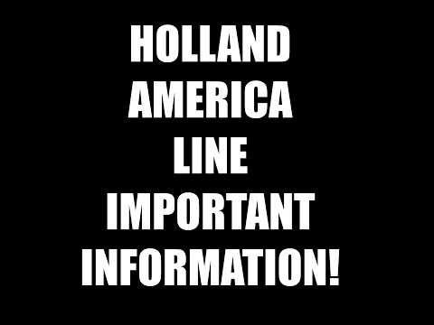 Holland America Cruise Identity theft!! Important info for passengers.