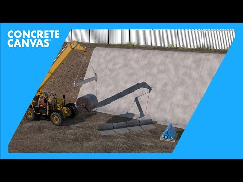 CC Slope Protection Installation (Arabic)