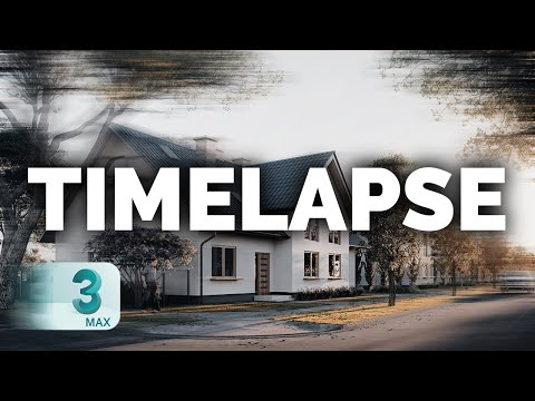Create A TIMELAPSE Shot Using 3ds Max   Corona V-Ray Tutorial