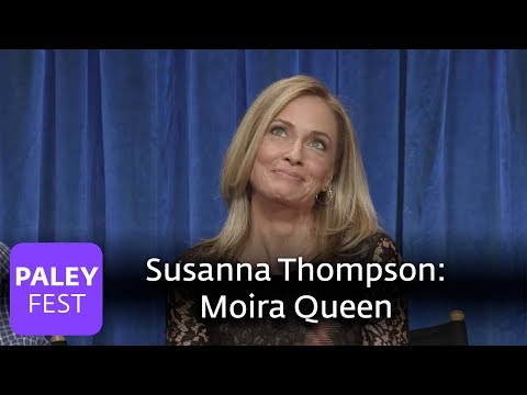 Arrow  Susanna Thompson Talks About Playing Moira Queen  Family Dynamics and What's Next