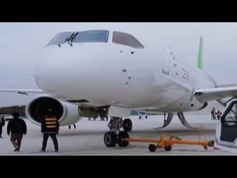 Watch: Made-in-China C919 aircraft prepares for maiden flight