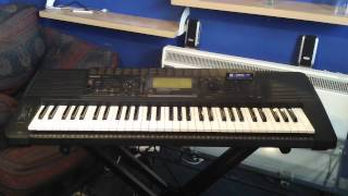Yamaha PSR-520 Keyboard Bonus Music Cartridge Songs