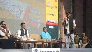 KANHAIYA KUMAR ON NOTE BANDI BY PM NARENDRA MODI IN TIMES LITFEST DELHI