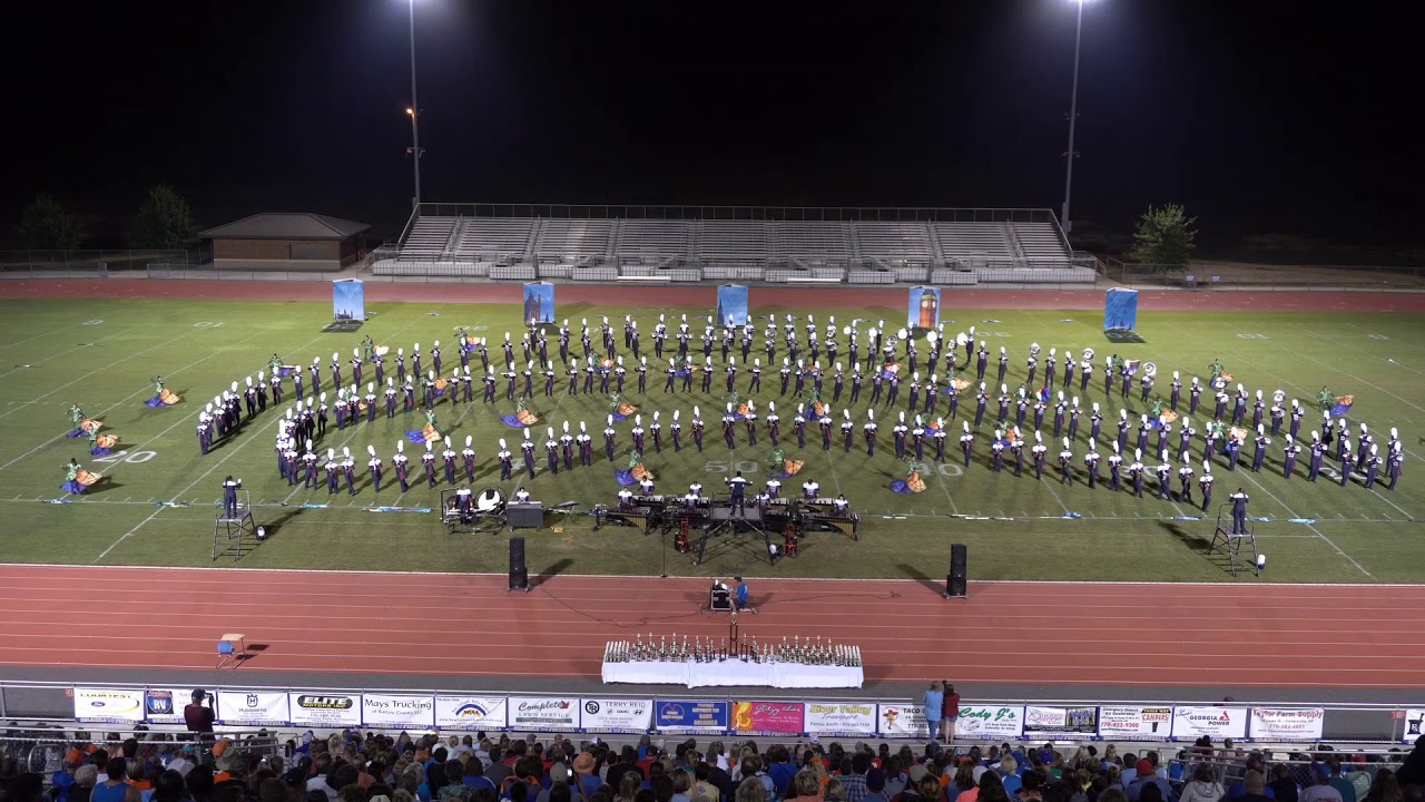 Nw Ga Marching Championship Woodland High School