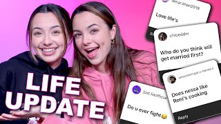 Q&A and LIFE UPDATE! How We Are Doing, Talking About the Future, Love and more! - Merrell Twins