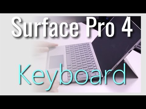Keyboard for Surface Pro 4 (and 3)