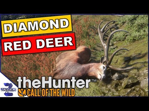 Diamond Red Deer Call of the Wild TheHunter