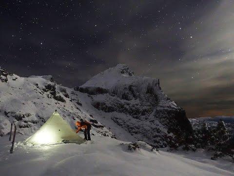 Ski Mountaineering in South West Tasmania