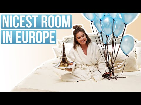 THE NICEST ROOM IN EUROPE!! | Shawn + Andrew