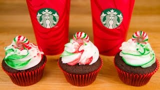 Starbucks Peppermint Mocha Cupcakes From Cookies Cupcakes And Cardio