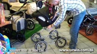 Adaptery fotelika Maxi Cosi do wózka ROAN Marita - URWIS.COM.PL