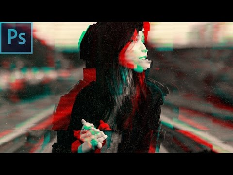 How To Create Awesome Glitch Effects - Photoshop Tutorial