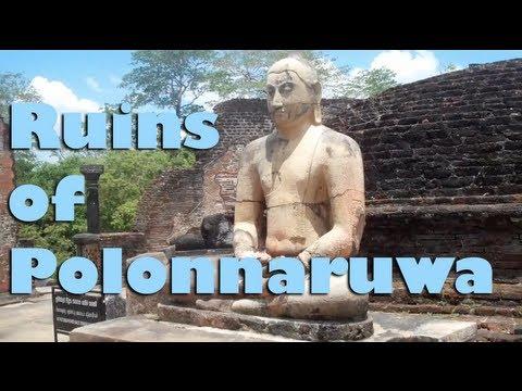 Ruins at Polonnaruwa - Sri Lanka, Asia