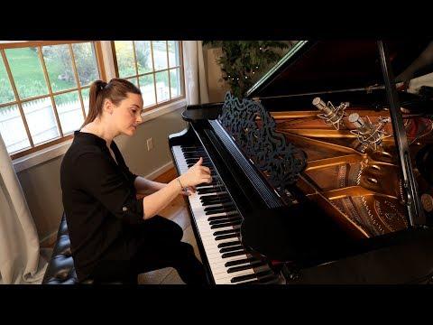 Mozart Piano Sonata No 11 in A Major, K. 331: I. Andante Grazioso (Marnie Laird, Piano)