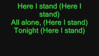 Madina Lake-Here I stand lyrics