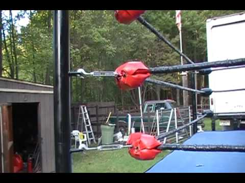 Part2 -How a Wrestling Ring is Made