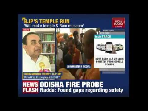 BJP's Temple Run