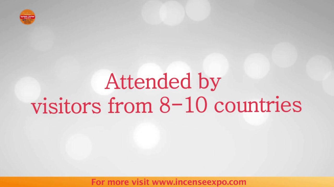 International Agarbatti & Perfume Expo by Incense Media