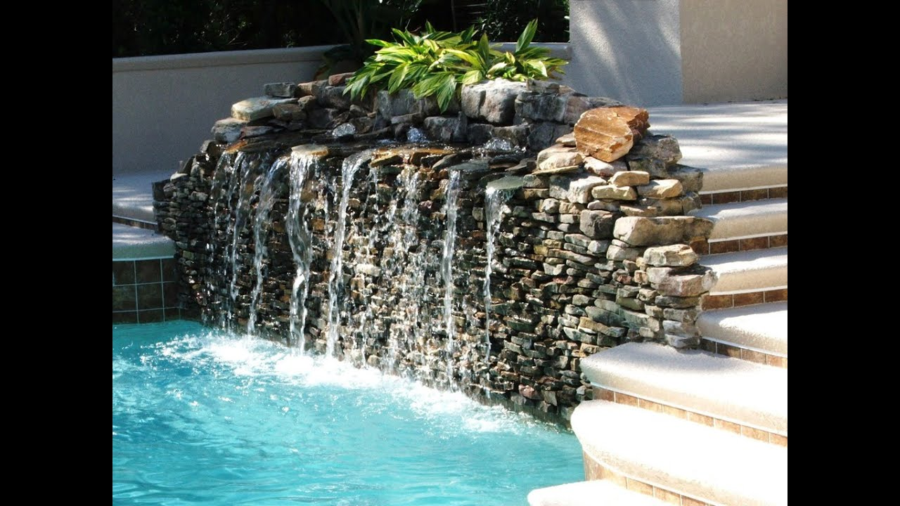 Garden ideas garden water features ideas youtube for Water pool design