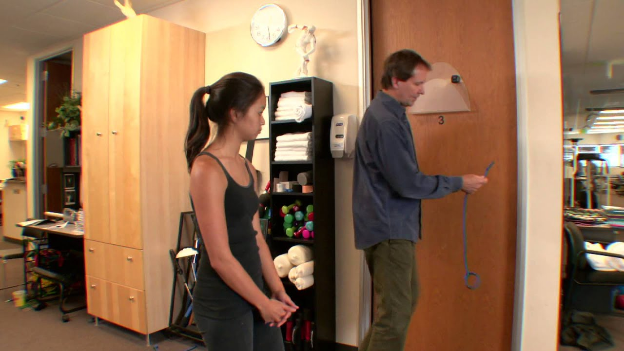 Shoulder Extension Exercise for Shoulder Physical Therapy : Shoulder Physical Therapy
