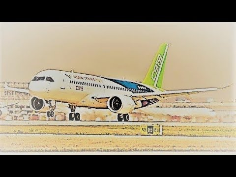 C919 Large Passenger Plane - Shanghai Municipality, China | 飛向藍天 浩瀚無垠 上海