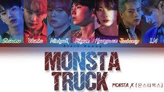Gambar cover MONSTA X (몬스타엑스) – Monsta Truck (Color Coded Lyrics Han/Rom/Eng/가사)