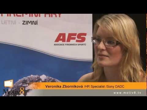 Veronika Zborniková /Sony DADC - Rozhovor o firemních sportovních hrách