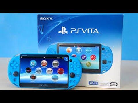 PSVita AQUA BLUE Unboxing! GameStop Exclusive - YouTube