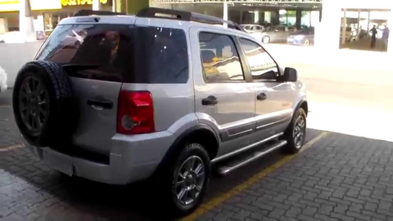 Ford Ecosport Freestyle 1 6 8v Flex 2012 Youtube