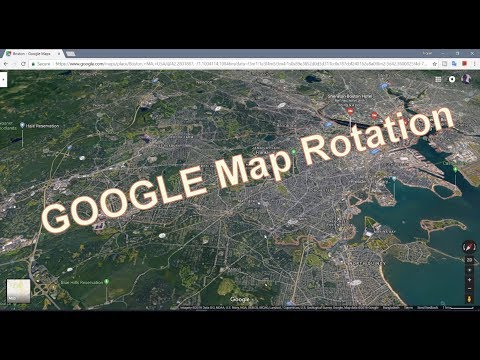 Rotate Google Map on PC - YouTube