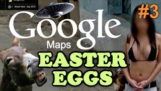 GOOGLE MAPS / EARTH Easter Eggs And Secrets | Ep #3 | HD Free HD Video